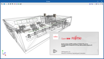 Open BIM FUJITSU. Analysis and design of FUJITSU air conditioning systems